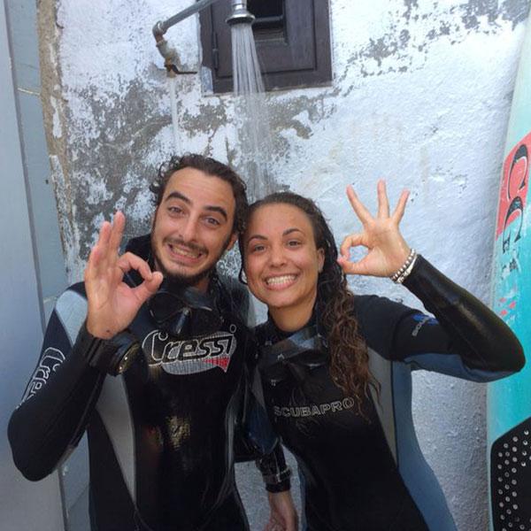 Discover Scuba Diver Sub Dive X Istruttori